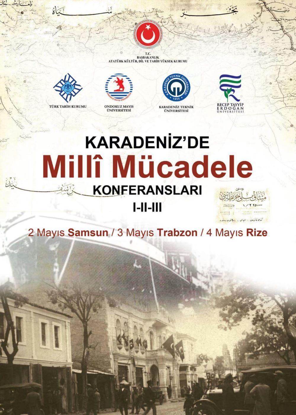 Karadeniz'de Milli Mücadele Konferansları