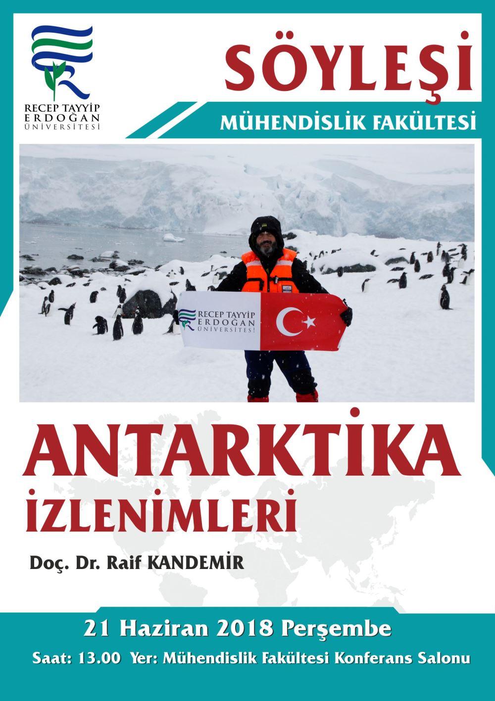 Söyleşi - Antarktika İzlenimleri