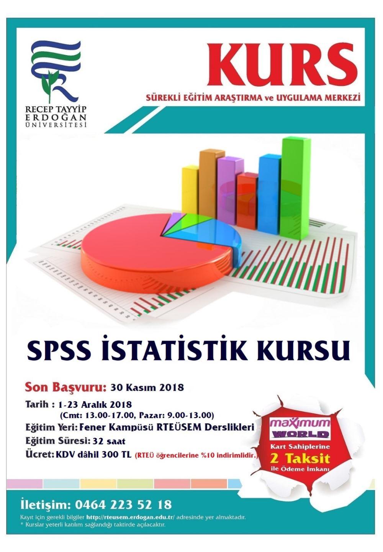 Spss İstatislik Kursları