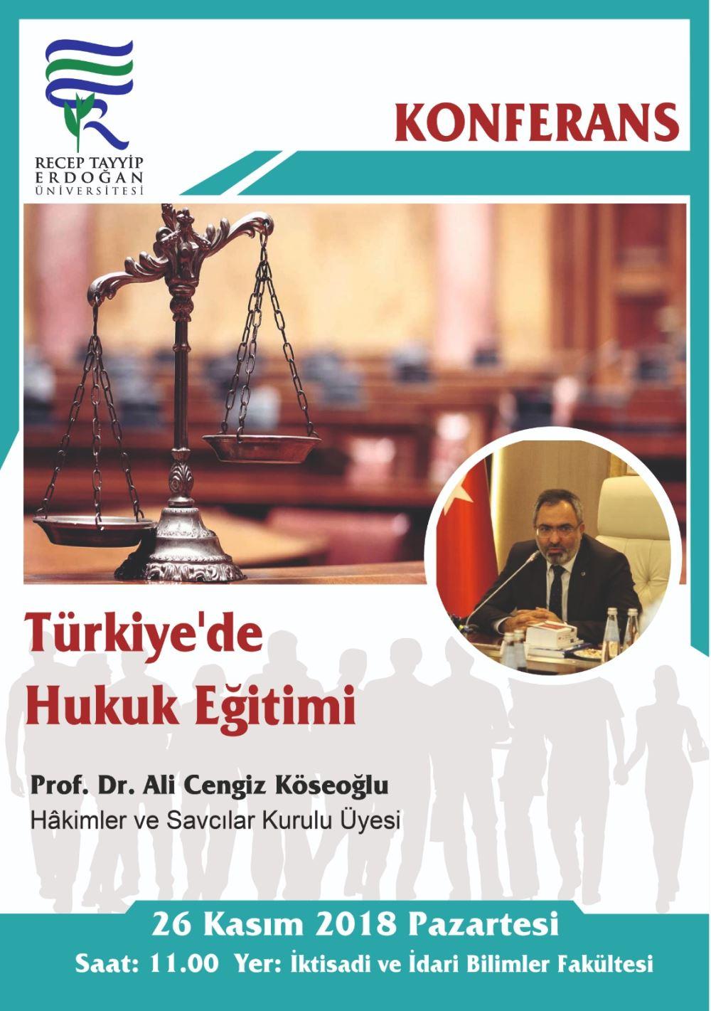 Türkiye'de Hukuk Eğitimi