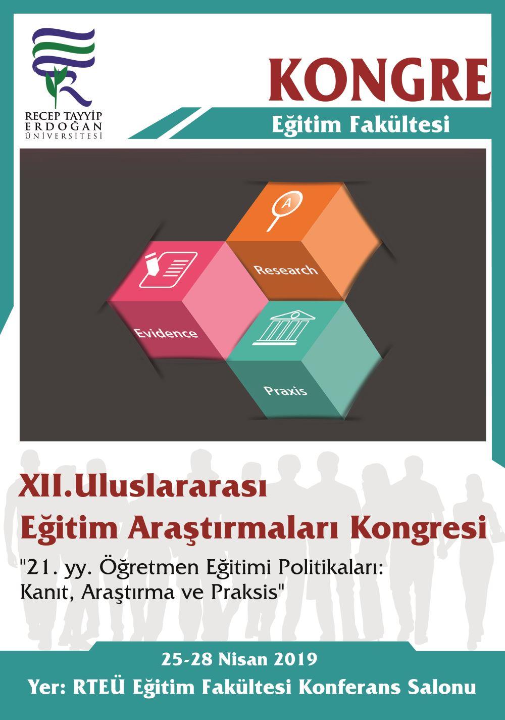 XII.Uluslararası.   Eğitim. Araştırmaları .Kongresi