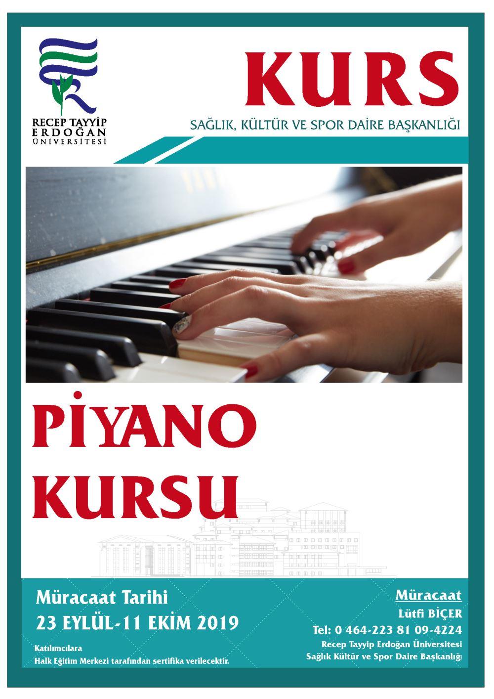 Piano Kursu