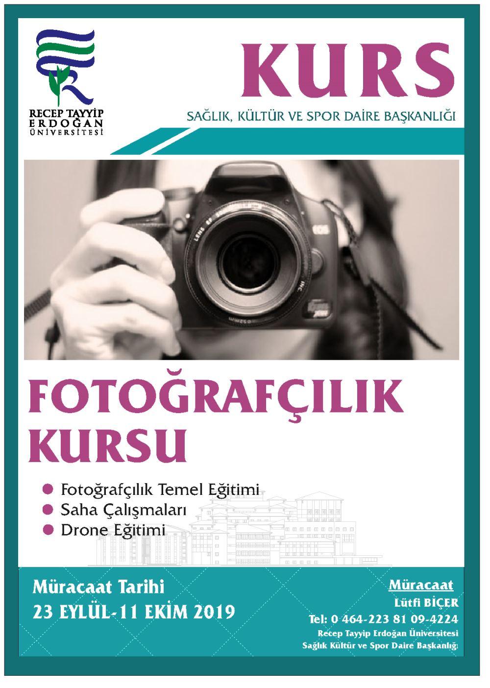 Fotoğrafcılık Kursu