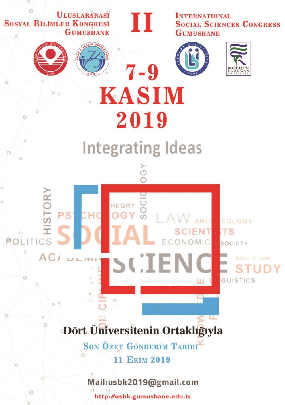 2.Uluslararası Sosyal Bilimler Kongresi