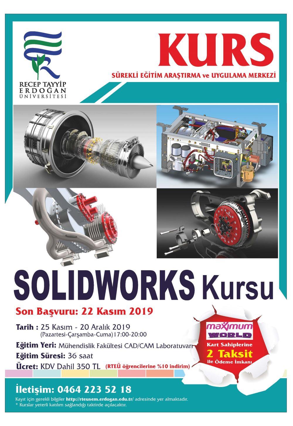 Solidworks Kurs Afişi