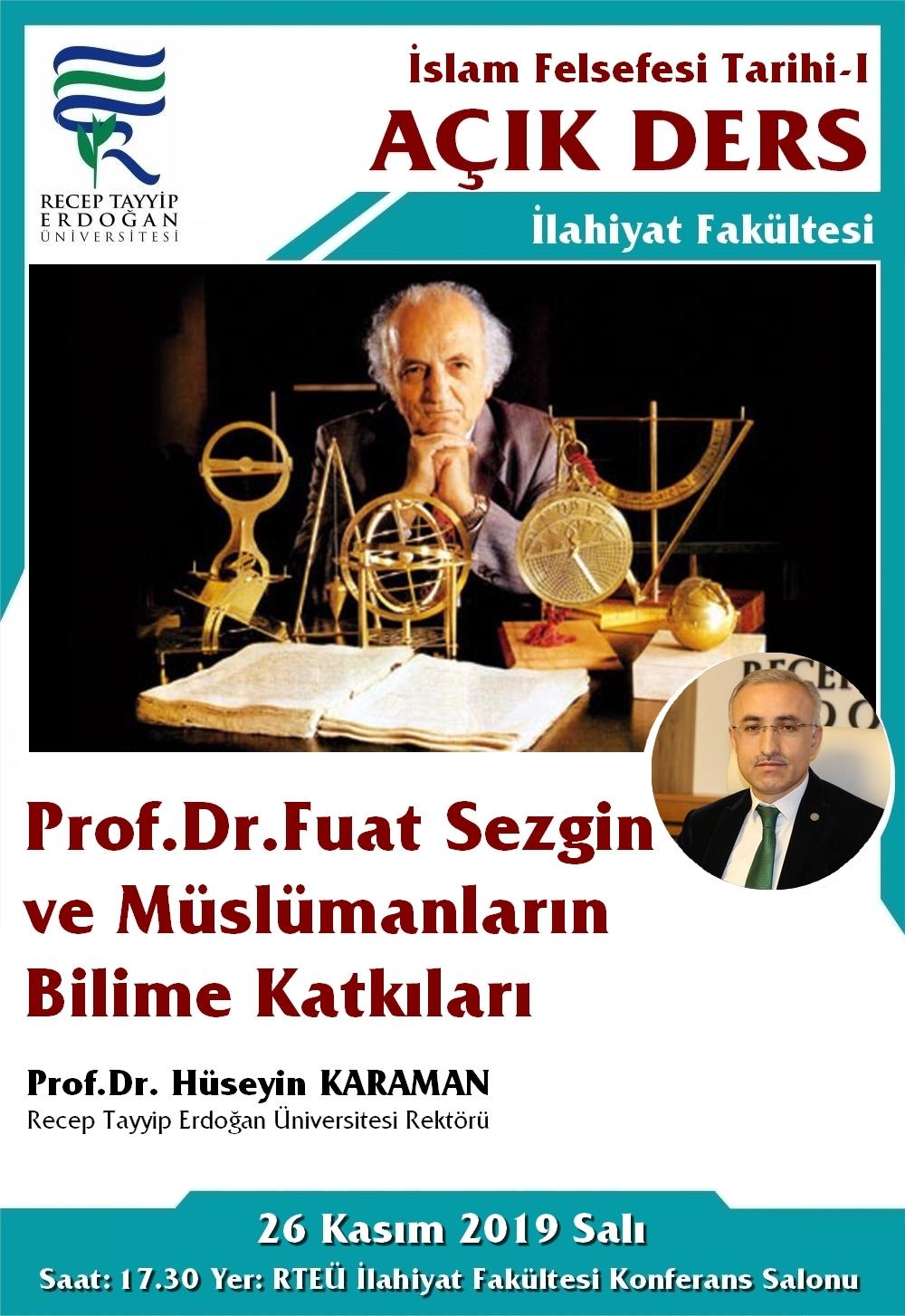 İslam Felsefesi Tarihi (Açık Ders)