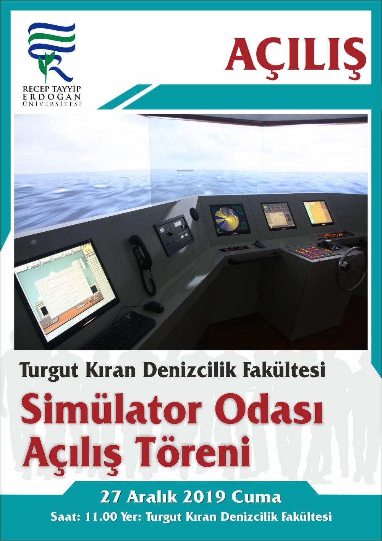 Simülator Odası Açılış Töreni