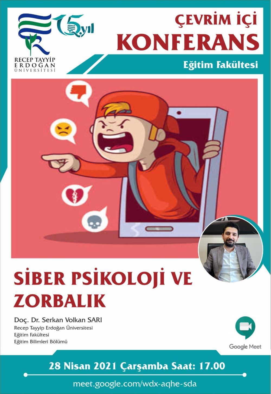 siber psikoloji ve zorbalık