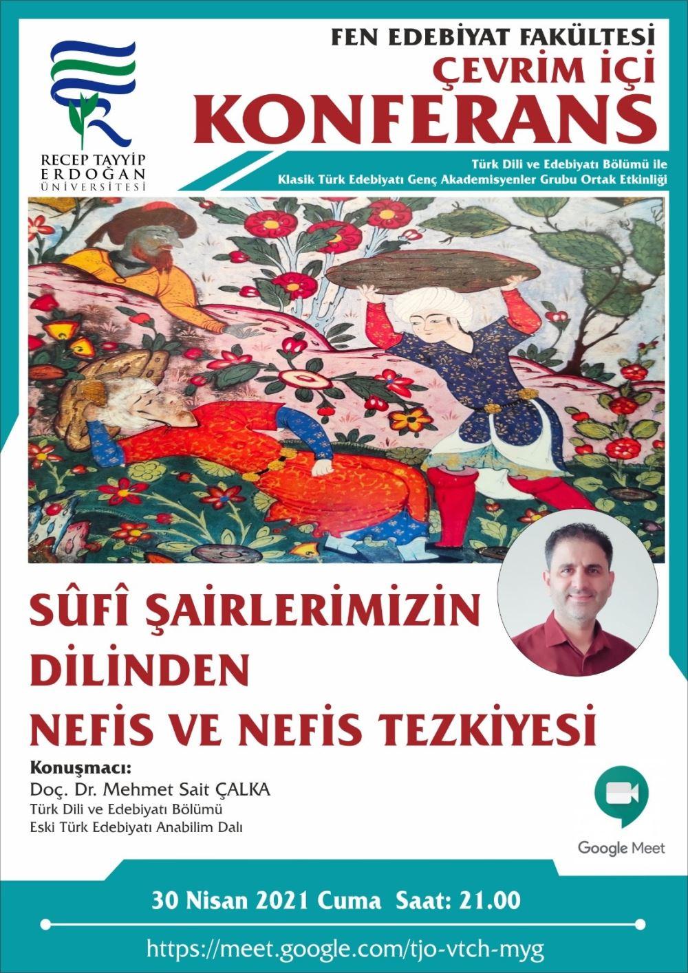 Sufi Şairlerimizin Dilinden Nefis ve Nefis Tezkiyesi
