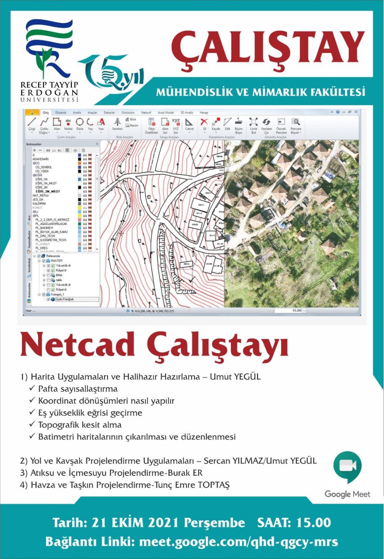 Netcad Çalıştayı