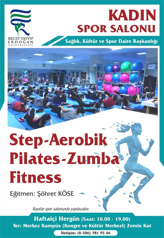 Step Aerobik Pilates  - Zumba Fitness