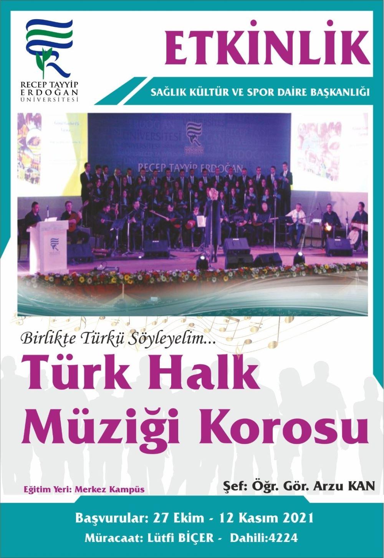 Türk halk müziği Korosu