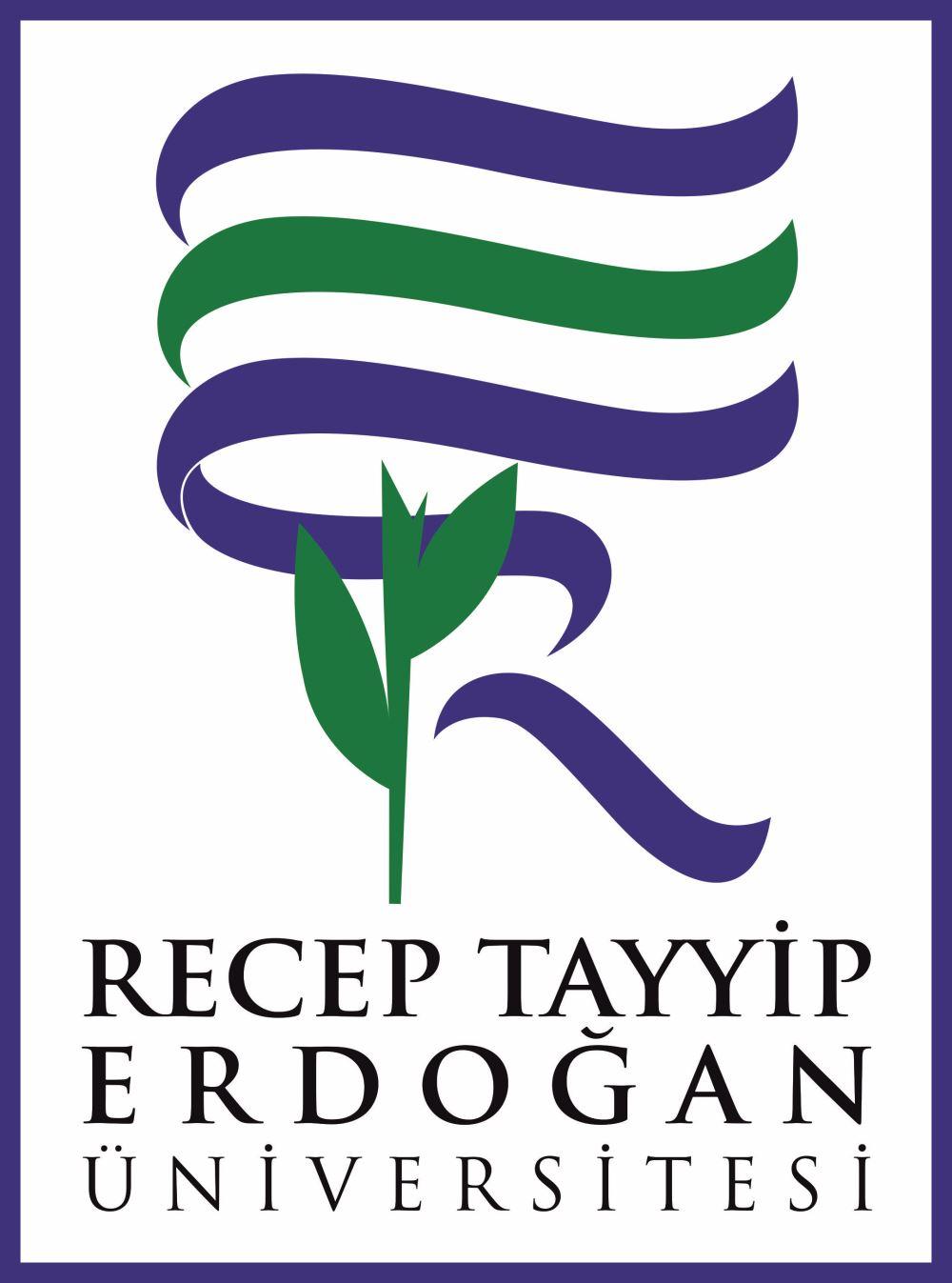 recep tayyip erdoğan üniversitesi logo ile ilgili görsel sonucu